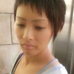 川口 美容室 2015 秋 子育てミセスにおすすめのベリーショート