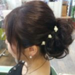浴衣×結婚式×ヘアセット